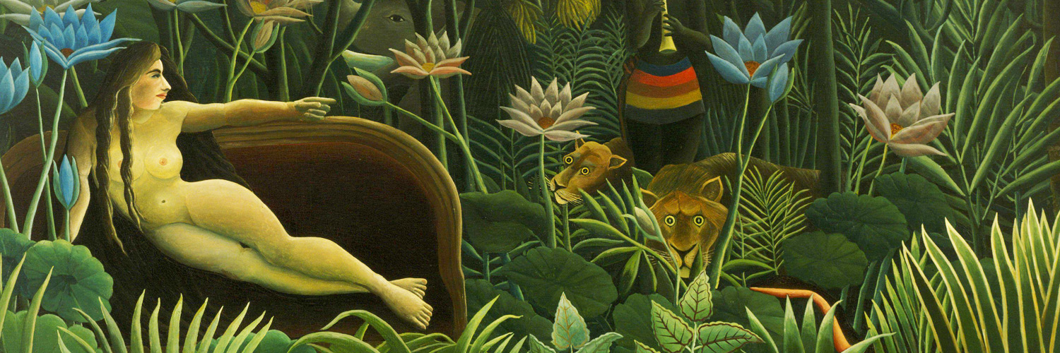 The Dream by Henri Julien Rousseau